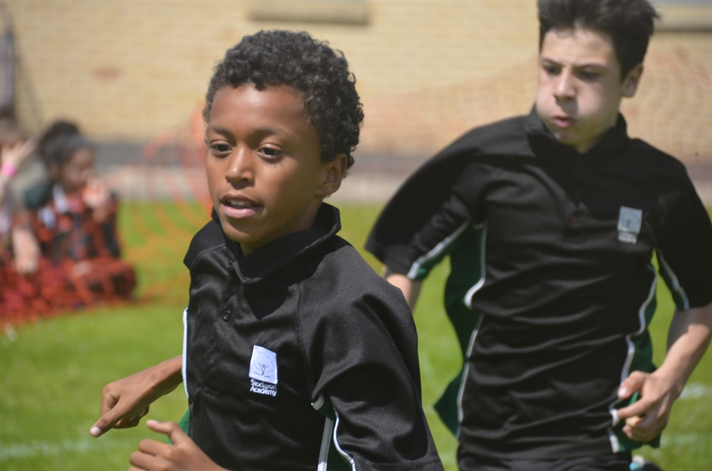Students star on track and field for Sports Day