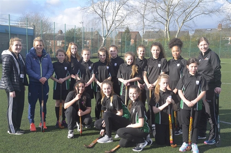 Olympic hockey masterclass for Stockport Academy girls
