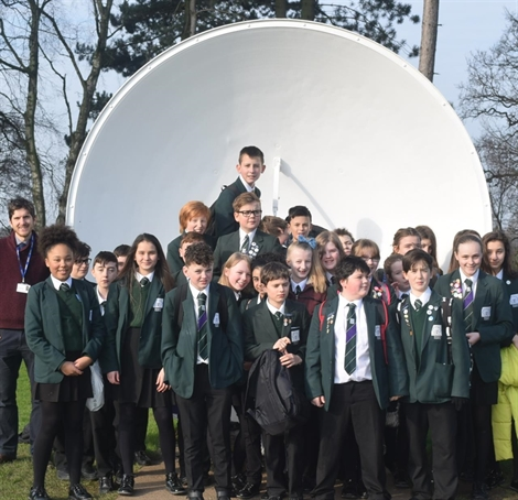 Year 8 Science trip out of this world