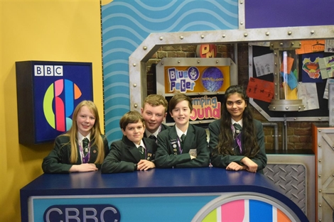 Stockport Academy Gaming Club play their way onto CBBC