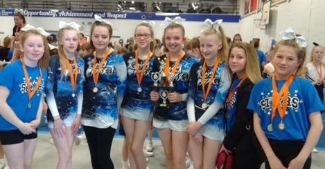 Stockport Academy cheerleaders' achievement worth shouting about
