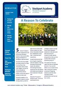 Stockport Academy Newsletter - July 2017: Issue 35