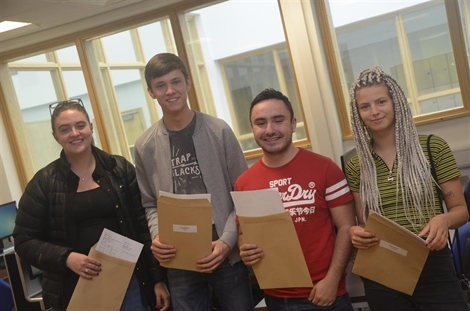 Students ready for the next adventure after A Level results