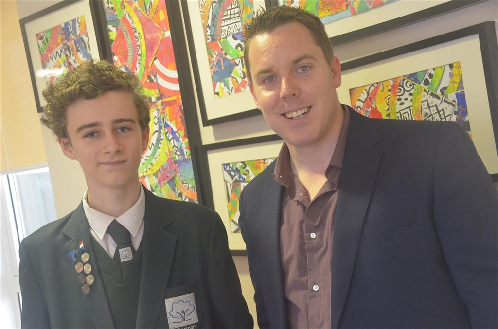 Stockport Academy Visited By Maths Royalty