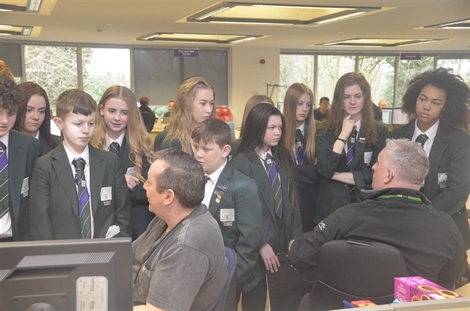 Students In Driving Seat For Career Success After Lex Autolease Visit