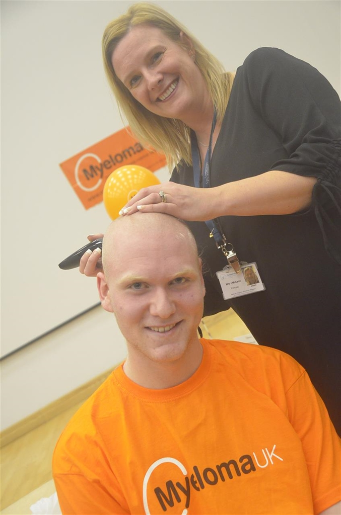 Jake's Head Shave Is A Cut Above For Charity