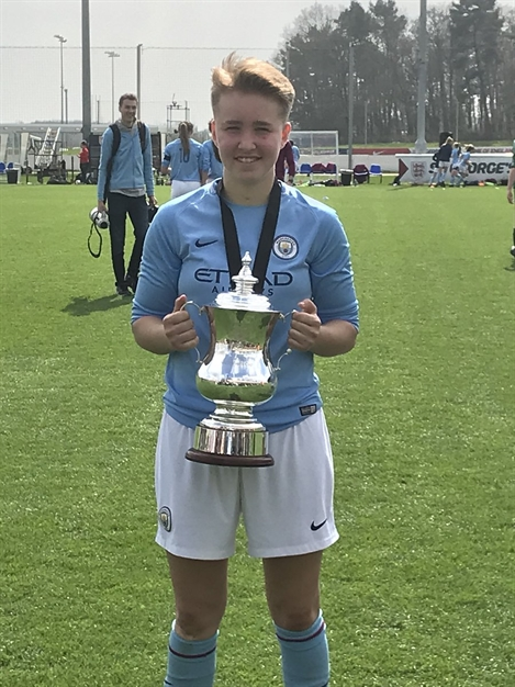 Stockport Academy Student Wins FA Cup