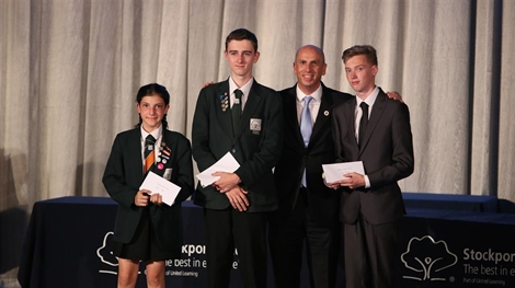Stockport Academy Celebrates In Style At Annual Prizegiving Ceremony