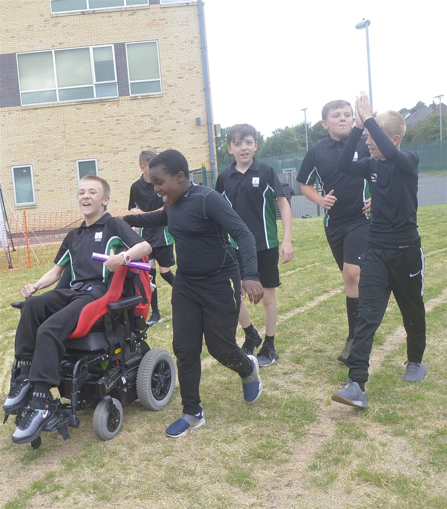 Records Tumble At Stockport Academy Sports Day