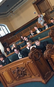 Stockport Academy Student Council Make Their Mark At Town Hall