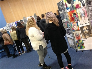 Art Showcase Draws The Crowds In