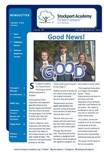 Stockport Academy Newsletter - Winter 2018: Issue 39