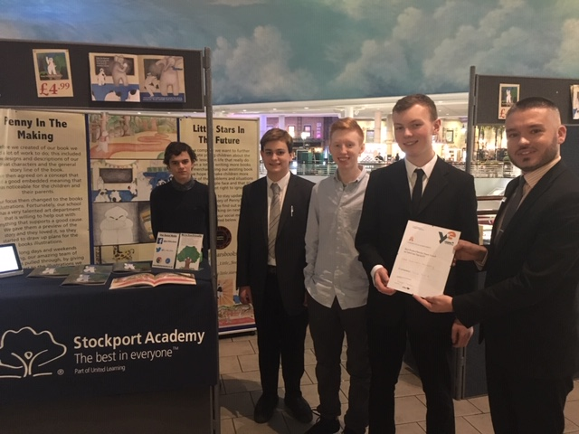 Trafford Centre Success For Stockport Academy Young Entrepreneurs