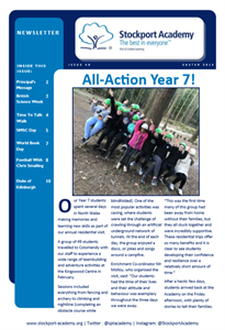 Stockport Academy Newsletter - Easter 2019: Issue 40