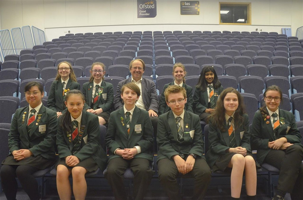 Stockport Academy Student Reporters Enjoy A Journey Into Journalism With Top Reporter