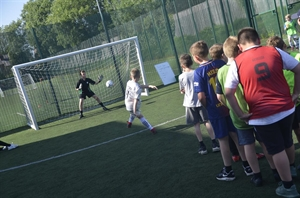 Sun Shines On Stockport Academy's Primary Football Festival