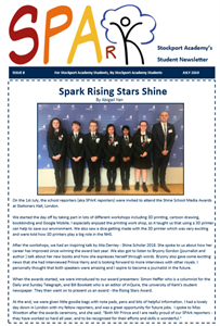SPARK - Issue 8 - July 2019