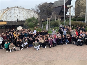Students Reap The Reward Of Prizegiving At Blackpool Pleasure Beach