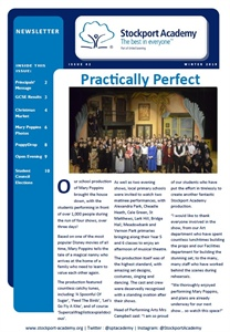 Stockport Academy Newsletter - Winter 2019: Issue 42