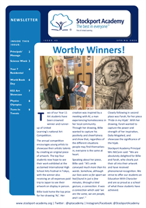 Stockport Academy Newsletter - Spring 2020: Issue 43