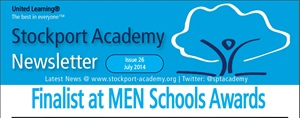 Stockport Academy Newsletter - July 2014: Issue 26